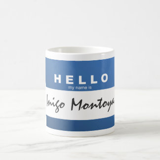 "Create Your Own ""Hello My Name Is..."" Mug"