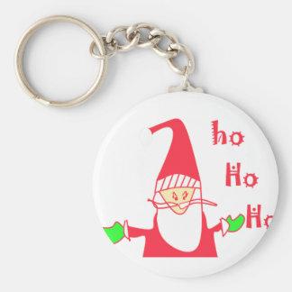Create Your Own Ho Ho Ho Merry Christmas Keychain