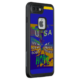 Create Your Own Hope for Stronger USA Together LifeProof FRĒ iPhone 7 Plus Case