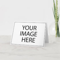 Create Your Own Horizontal Greeting Card