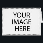 """Create Your Own Horizontal Greeting Card<br><div class=""""desc"""">Add your own image for a personalized horizontal greeting card that&#39;s made especially for the recipient. Simply click &quot;Customize it&quot; to get started.</div>"""
