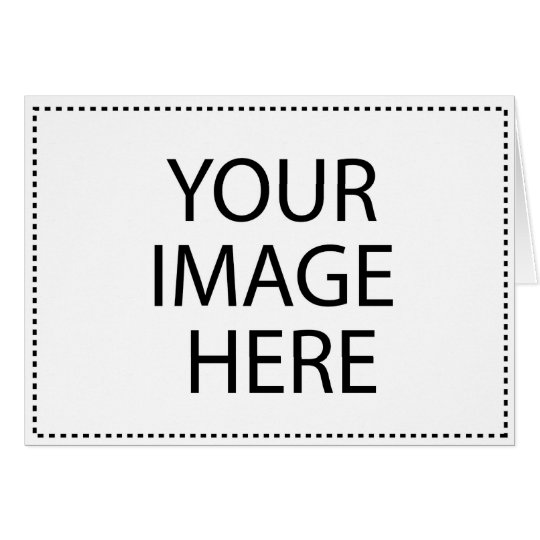 Create your own horizontal greeting card zazzle card size standard 5 x 7 create your own m4hsunfo Image collections