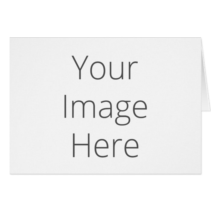 notecard creator create your own horizontal note card zazzle