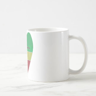 Create Your Own I love Ethiopia Coffee Mug