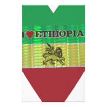 Create Your Own I love Ethiopia Stationery