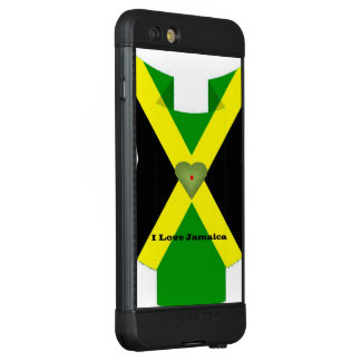 Create Your Own I Love Jamaica LifeProof NÜÜD iPhone 6s Plus Case