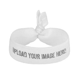 Create-Your-Own Image Upload Hair Tie