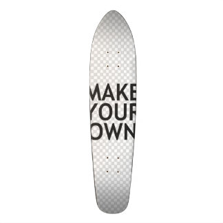 Create Your Own in One Easy Step! Skateboard Decks