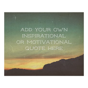 Create your own Inspirational/Motivational Quote Poster