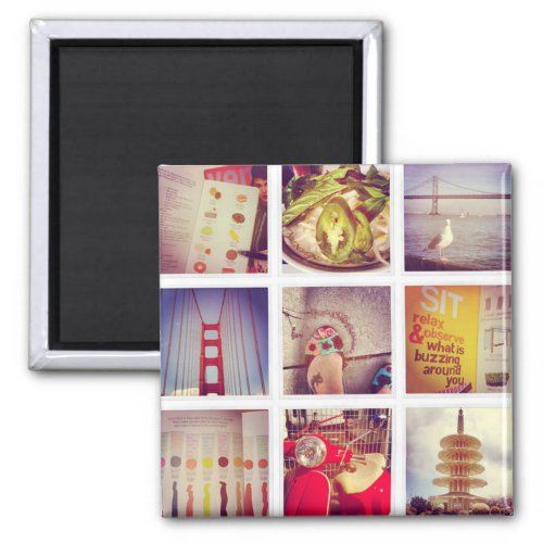 Create Your Own Instagram 2 Inch Square Magnet