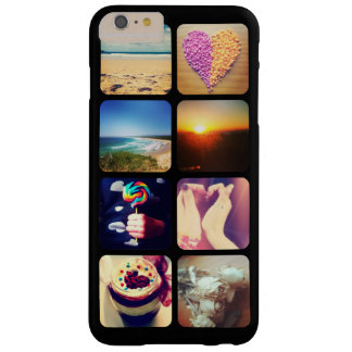 Create Your Own Instagram 8 Photo Barely There iPhone 6 Plus Case