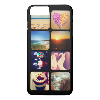 Create Your Own Instagram 8 Photo iPhone 7 Plus Case