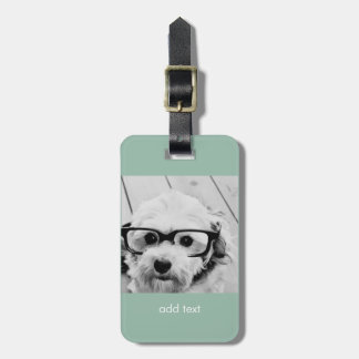 Create Your Own Instagram Art Luggage Tag