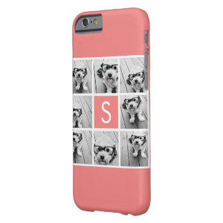 Create Your Own Instagram Collage Custom Monogram Barely There iPhone 6 Case