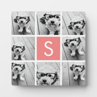 Create Your Own Instagram Collage Custom Monogram Display Plaques