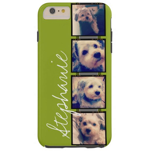 Create Your Own Instagram Photo Collage Tough iPhone 6 Plus Case