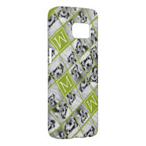 Create Your Own Instagram Photo Collage Lime Samsung Galaxy S7 Case