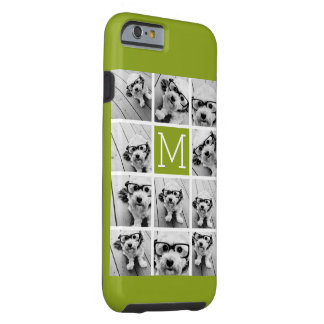 Create Your Own Instagram Photo Collage Lime Tough iPhone 6 Case