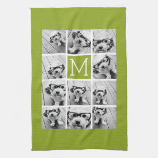 Create Your Own Instagram Photo Collage Lime Towels