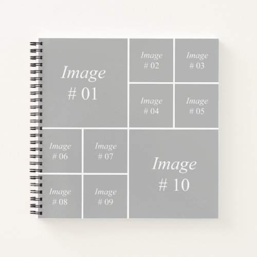 Create your own Instagram photo collection Notebook