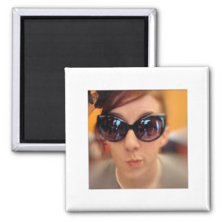 Create Your Own Instagram Photo Frame 2 Inch Square Magnet