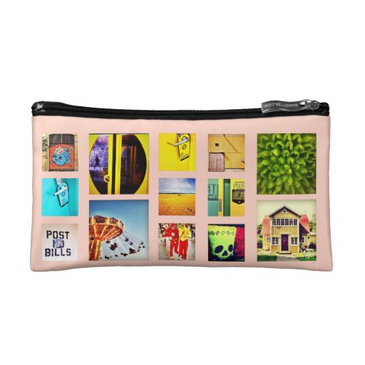 Create Your Own Instagram Photo Make Up Bags Cosmetic Bags