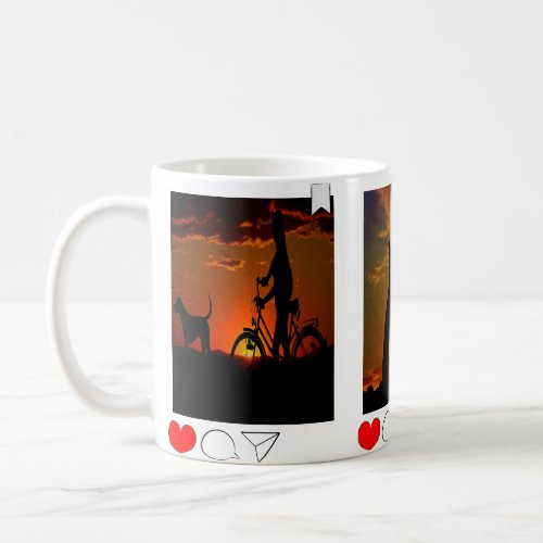 Create your own instagrame photo mug