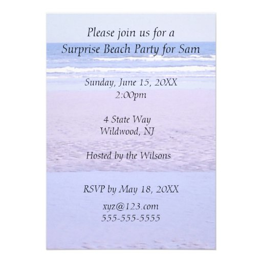 create your own invitation template