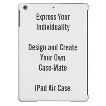 Create Your Own iPad Air Case (Case-Mate) at Zazzle
