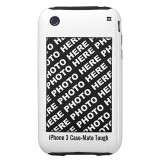 Create Your Own iPhone 3 Tough Case White