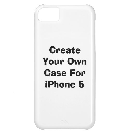 make your own iphone case create your own iphone 5c casemate zazzle 17799