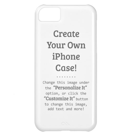 create iphone case create your own iphone 5c template zazzle 1851