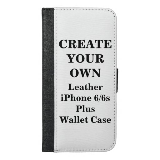 Create Your Own iPhone 6/6s Plus Wallet Case