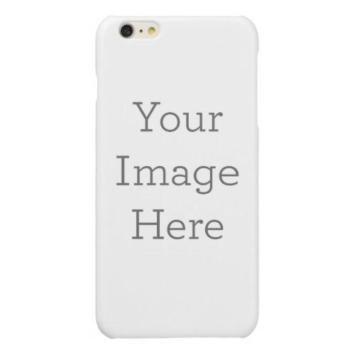 Create Your Own Glossy iPhone 6 Plus Case