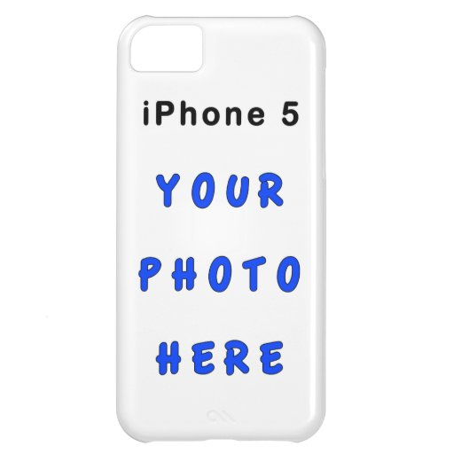 Create Your Own Iphone Covers With Your Photo Iphone 5c