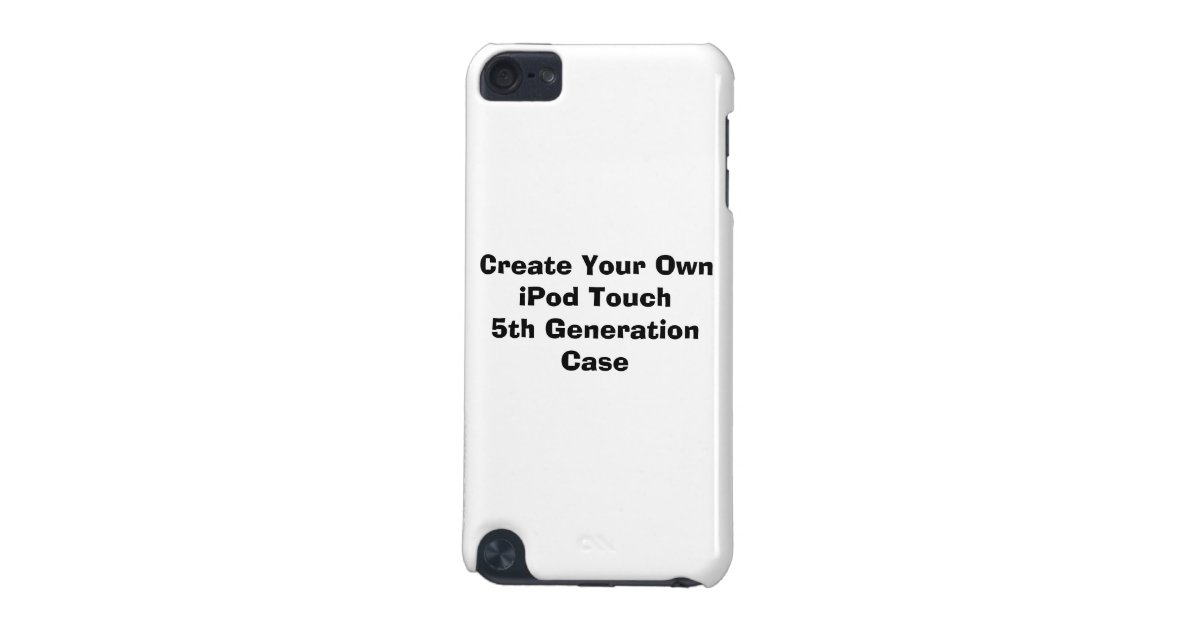 create your own ipod touch 5 generation ipod touch  5th generation  cover