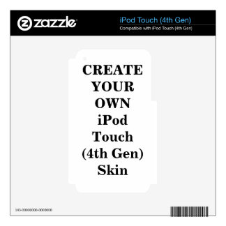 Create Your Own  iPod Touch Skin