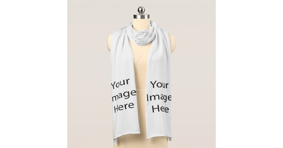create your own jersey scarf zazzle