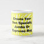 Create Your Own Jumbo Or Expresso Mug Jumbo Mugs
