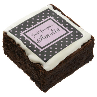 Create your own.. Just for you Chocolate Brownie