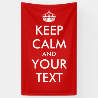"Create Your Own ""Keep Calm & Carry On"" Poster! Banner"