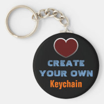 make, design, create, your, own, custom, personal, personalize, blank, template, Keychain with custom graphic design