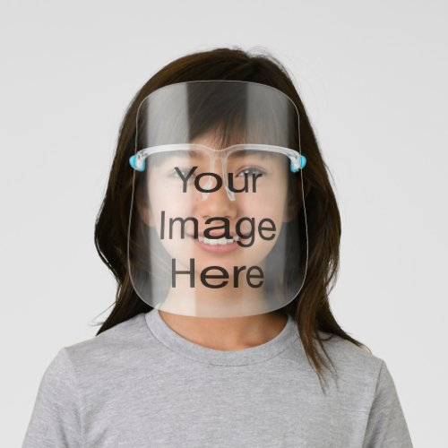 Create Your Own Kids Face Shield