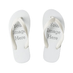 Create Your Own Kid's Flip Flops at Zazzle