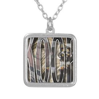 Create Your Own Koop Merchandise Silver Plated Necklace