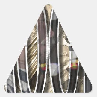 Create Your Own Koop Merchandise Triangle Sticker