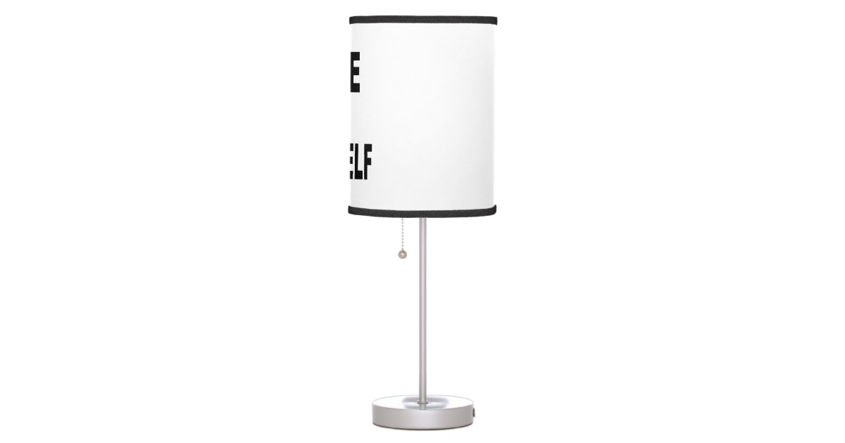create your own lamp zazzle. Black Bedroom Furniture Sets. Home Design Ideas