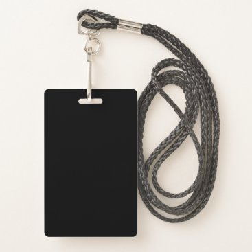 Professional Business CREATE YOUR OWN (Lanyard, Clip or Retractable) Badge