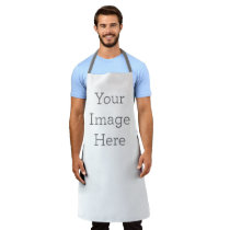 Create Your Own Large All-Over Print Apron