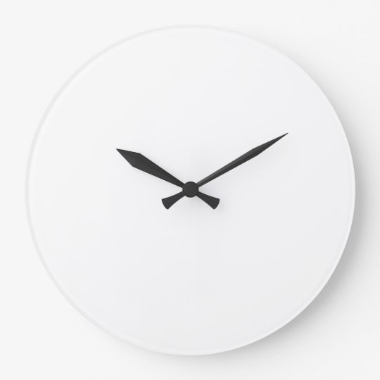 Create Your Own Large Wall Clock